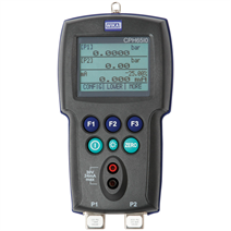 Intrinsically safe hand-held pressure calibrator